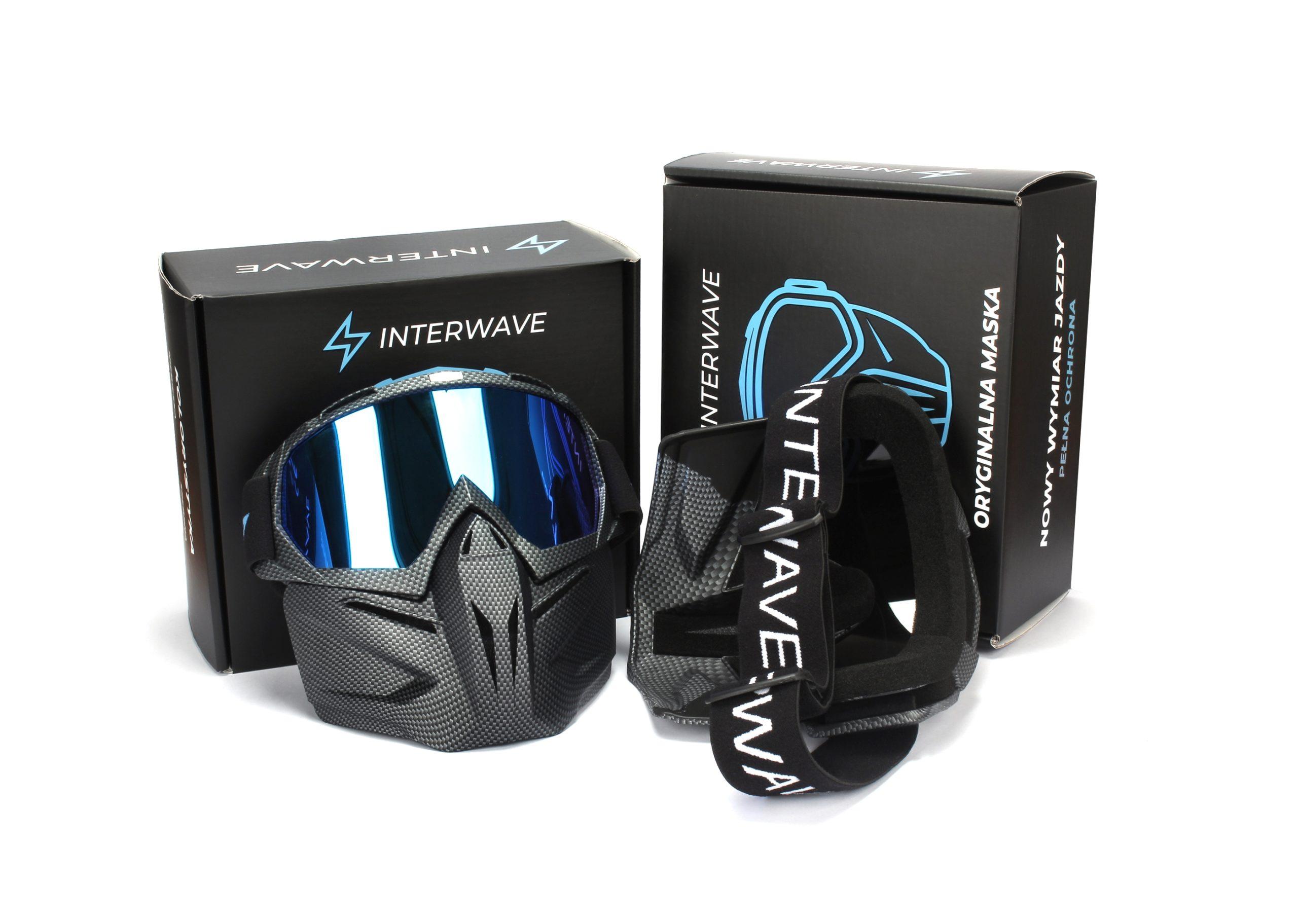 oryginalna maska narciarska snowboardowa interwave