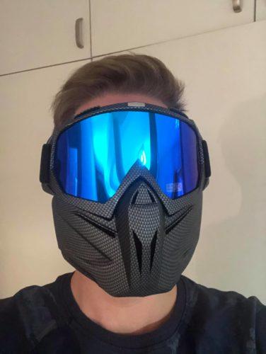 Oryginalna Maska Interwave - Gogle AntiFog z Maską - Maska Narciarska i Snowboardowa photo review